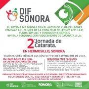 Realizará DIF Sonora Segunda Jornada de Cirugía de Cataratas