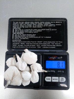 Asegura PESP en una semana mil 022 dosis de droga