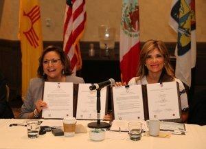 Consolidan Sonora y Nuevo México acuerdos en educación y seguridad