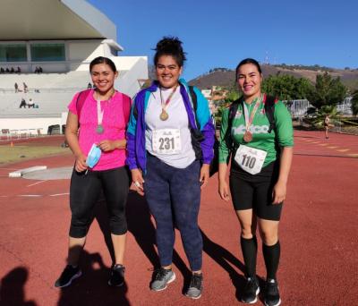 Logran sonorenses siete medallas en Nayarit en Festival de Lanzamientos y Copa de Atletismo