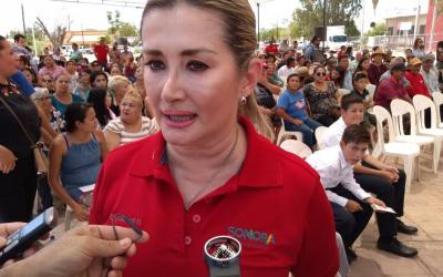 Perspectiva Sonora ....... La lucha electoral es contra AMLO, dice Elly Sallard .......