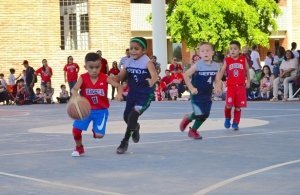 Culmina Festival Estatal de Mini Basquetbol