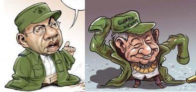 El Zancudo, no mata pero hace roncha……. Calderón vive, la militarización sigue……