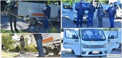 Parques más limpios con nuevos carritos recolectores en Hermosillo. Celida López
