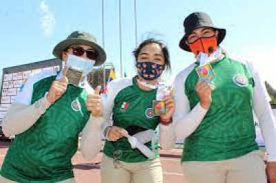 Las hermanas Valencia Trujillo competirán en primera etapa de la Copa del Mundo de Arquería