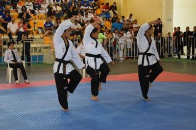 Avanza taekwondoín sonorense a la final de Copa Tabasco Poomsae virtual Nacional