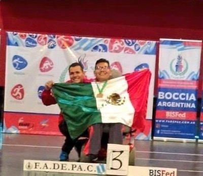 Oro y Bronce para sonorense en Torneo Internacional de Bochas rumbo a JPP 2019