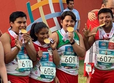 Logra Itzel Romero segunda medalla de oro en Juegos Mundiales de Olimpiadas Especiales