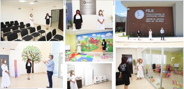 Inaugura Gobernadora nuevo Centro Justicia para las Mujeres que dará  atención integral