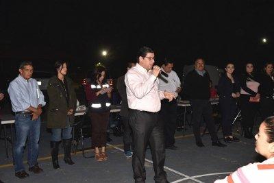 Sostienen funcionarios municipales diálogo con vecinos de El Palo Verde