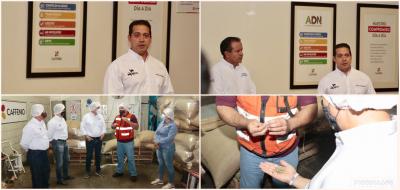 Refrenda Arturo Fernández compromiso para la protección del empleo
